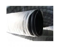 Дренажная труба Двухслойная в фильтре Тайпар диаметром 160 мм бухта 50 м производства NASHORN SN 6