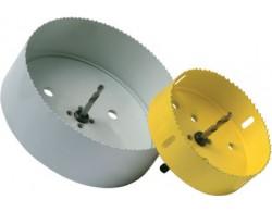 Коронки для врезки муфты в дренажный колодец диаметр 110 мм