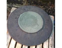 Люк дренажного колодца с конусом диаметр 1000 мм