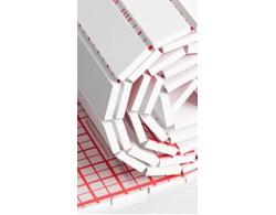 Мат теплоизоляционный в виде рулонов, предназначен для монтажа водяного и электрического тёплого пола толщина 25 мм