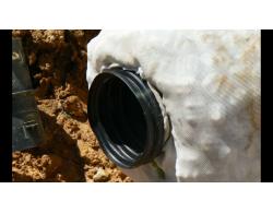 Дренажная труба Softrok диаметром 160/300 мм, российский наполнитель, отрезок 3 метра