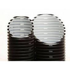Двухслойная дренажная труба диаметром 200 мм Перфокор SN 8 отрезками по 3 метра (для глубинного дренажа)