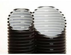 Двухслойная дренажная труба диаметром 110 мм Перфокор SN 8 отрезками по 3 метра производство Россия (для глубинного дренажа)