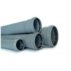 Труба (ПВХ) с раструбом 110/3.2/4000 мм