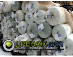 Геотекстиль дренажный иглопробивной Дорнит 300 г/кв. м, цена 1 рулон (ширина 2 метра), 50 м погонных, 100 кв/м