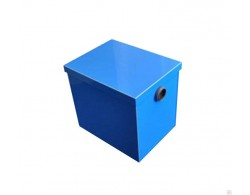 Жироуловитель под мойку ПЭ 05-25 Д 420х320х370 производительность 0,5 м3/час, пикова нагрузка 25 л, Д парубка 50 мм