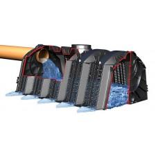 Дренажный инфильтрационный тоннель 1200х800х510 GRAF 300 л в комплекте вес 11 кг. Соединение на 100/125/150