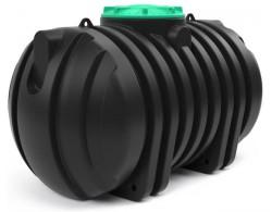 Емкость для сбора хозяйственно-бытовых и сточных вод длинна 1480 мм, ширина 2х720 мм, на 4000 л
