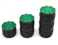 Канализационный смотровой колодец диаметр 800х1500х650 литров