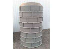 Дно полимерпесчаного сборного колодца (диаметр 1 метр)