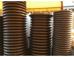 Смотровой коллекторный колодец с дном и люком диаметром 700 мм длинной 1 метр
