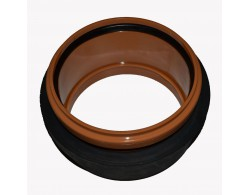 Муфта (для врезки в дренажный колодец) диаметр 110 мм