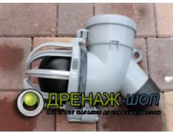 Шаровый обратный клапан автоматический для колодца UPONOR (Финляндия) 110 мм