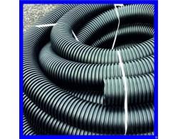 Труба одностенная гофрированная для ливневой канализации D=200 мм
