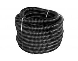 Труба защитная одностенная гофрированная ПНД D=110 мм. Без перфорации (бухта 50 м)