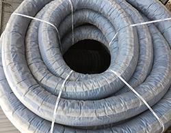Дренажная труба Двухслойная в фильтре Тайпар диаметром 110 мм бухта 50м производства NASHORN SN 6